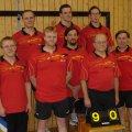 oben (v.l.n.r.): G&uuml;nter Herbrich, Christian Schnattinger, Jochen Daam<br /> unten (v.l.n.r.): Martin Lichtblau, Detlef Strotmann, Thomas Schnattinger, Gerhart Lochschmidt, Josef Huber