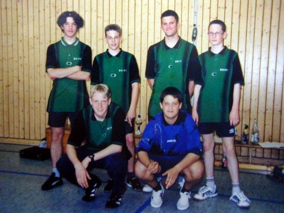 oben v.l.n.r.: Thomas Schnattinger, Timo Rodinger, Christian Schnattinger, Thomas Mayr<br /> unten v.l.n.r.: Florian Ru&szlig;, Benjamin M&uuml;ller