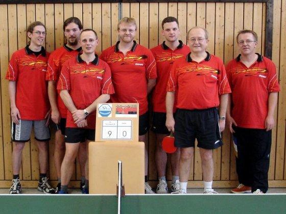 v.l.n.r.: Jochen Daam, Thomas Schnattinger, Günter Herbrich, Detlef Strotmann, Christian Schnattinger, Gerhard Lochschmidt, Martin Lichtblau